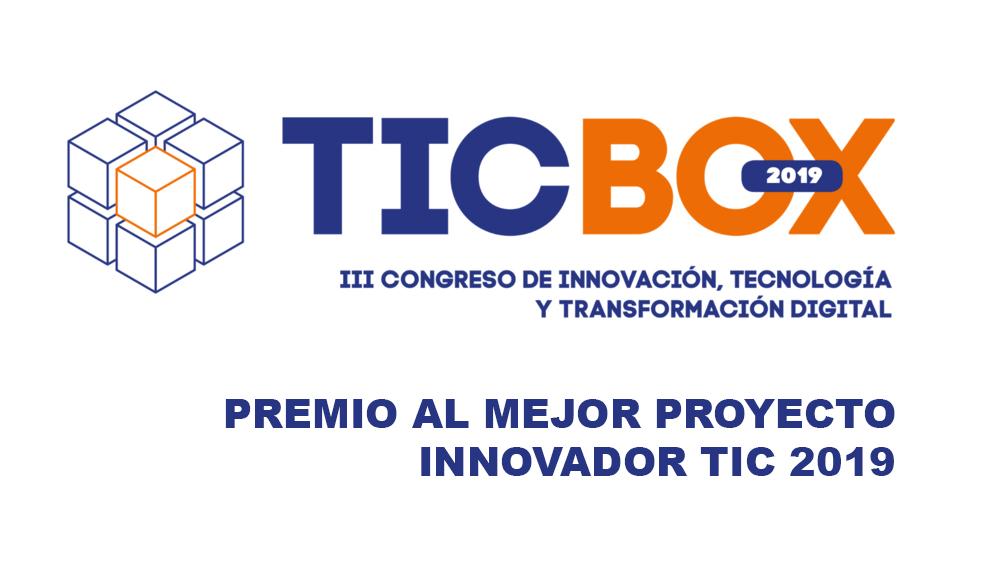Premio Ticbox al mejor proyecto Innovador recibido por ICARUS Drone Systems