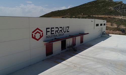 Fotografía aérea de las instalaciones de Ferruz